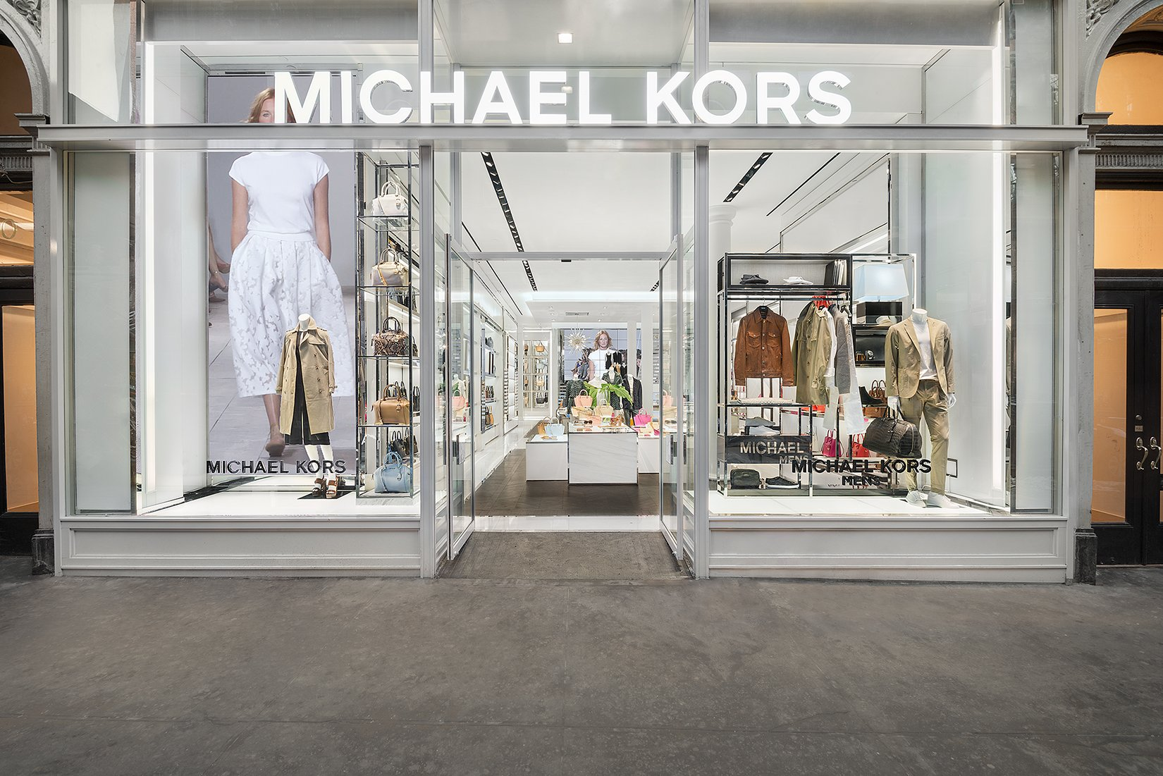 abb1b4461007 All Michael Kors Locations Worldwide | Designer Handbags, Clothing ...